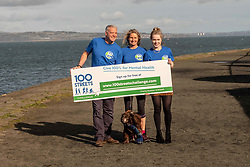 Pictured: Maria Lyle, Scott and Jenny Hastings<br />