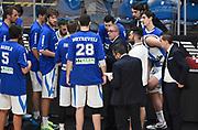 DESCRIZIONE : Milano Campionato Lega A 2015-16 Olimpia EA7 Emporio Armani Milano Betaland Capo d'Orlando<br /> GIOCATORE : Giulio Griccioli<br /> CATEGORIA : Allenatore Coach Time Out<br /> SQUADRA : Betaland Capo d'Orlando<br /> EVENTO : Campionato Lega A 2015-16<br /> GARA : Olimpia EA7 Emporio Armani Milano Betaland Capo d'Orlando<br /> DATA : 13/12/2015<br /> SPORT : Pallacanestro <br /> AUTORE : Agenzia Ciamillo-Castoria/A.Giberti<br /> Galleria : Campionato Lega A 2015-16  <br /> Fotonotizia : Milano Campionato Lega A 2015-16 Olimpia EA7 Emporio Armani Milano Betaland Capo d'Orlando<br /> Predefinita :