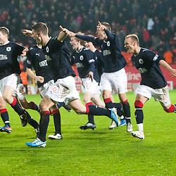 Dundee Utd 2 v 2 Falkirk. Scottish Communities League Cup, 25/10/2011.
