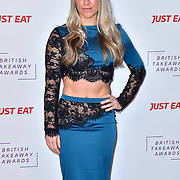 Chloe Madeley attend the British Takeaway Awards 2020 on 27th January 2020, Savoy Hotel, Strand, London, UK.