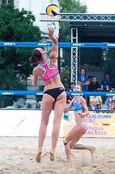 Ana Skarlovnik at Beach Volleyball Challenge Ljubljana 2014, on August 2, 2014 in Kongresni trg, Ljubljana, Slovenia. Photo by Matic Klansek Velej / Sportida.com