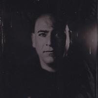 Tintype wetplate collodion plate made at Vine Street, Brighton. Johann.