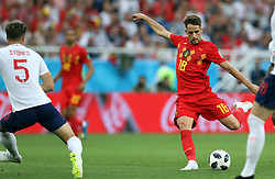 June 28, 2018 - Kaliningrad, RUSSIA - Belgium's Adnan Januzaj pictured in action during a soccer game between Belgian national soccer team the Red Devils and England, Thursday 28 June 2018 in Kaliningrad, Russia, the third and last in Group G of the FIFA World Cup 2018. BELGA PHOTO BRUNO FAHY (Credit Image: © Bruno Fahy/Belga via ZUMA Press)
