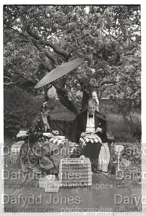 Anthony Bowles, Sarah Bowles, Glyndebourne. 28 May 1984.