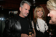 Trevor Eve and Sharon Maughan, PJ's Annual Polo Party . Annual Pre-Polo party that celebrates the start of the 2007 Polo season.  PJ's Bar & Grill, 52 Fulham Road, London, SW3. 14 May 2007. <br /> -DO NOT ARCHIVE-© Copyright Photograph by Dafydd Jones. 248 Clapham Rd. London SW9 0PZ. Tel 0207 820 0771. www.dafjones.com.