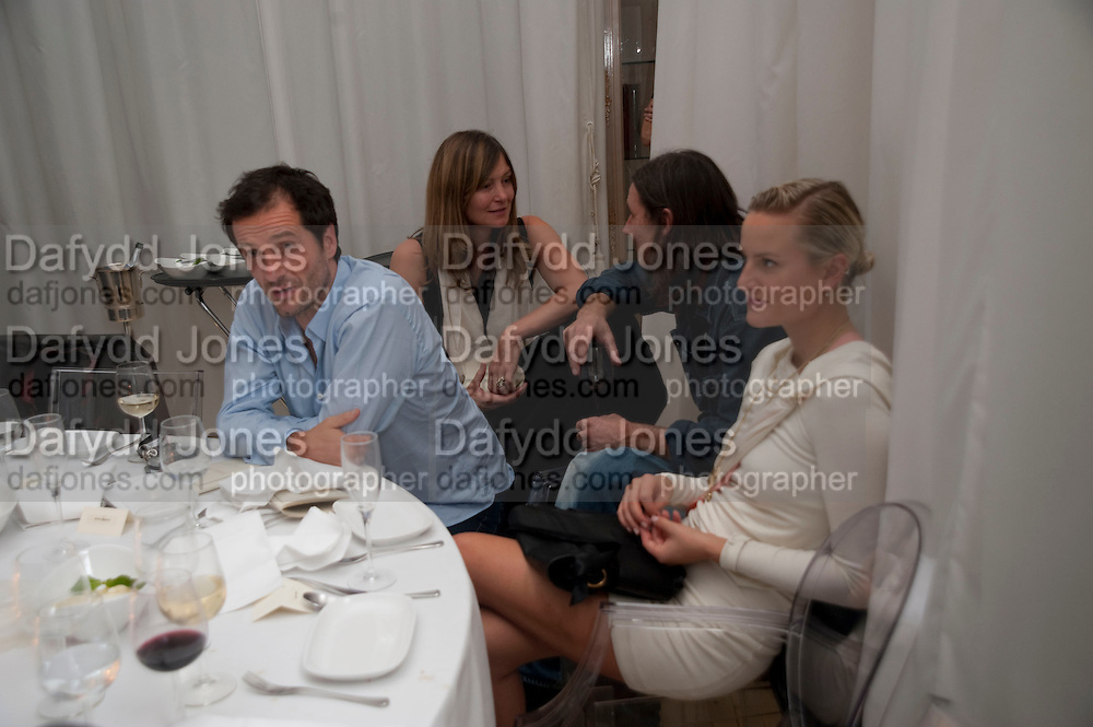 DAVID HEYMAN; PAUL WAKEFIELD; OLYMPIA SCARRY, Robert Mapplethorpe's A Season in Hell. Alison Jacques Gallery and afterwards at the Sanderson Hotel. Berners St. London. 13 October 2009. *** Local Caption *** -DO NOT ARCHIVE-© Copyright Photograph by Dafydd Jones. 248 Clapham Rd. London SW9 0PZ. Tel 0207 820 0771. www.dafjones.com.<br /> DAVID HEYMAN; PAUL WAKEFIELD; OLYMPIA SCARRY, Robert Mapplethorpe's A Season in Hell. Alison Jacques Gallery and afterwards at the Sanderson Hotel. Berners St. London. 13 October 2009.