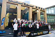 November 12-16, 2019: Macau Grand Prix drivers and riders pose