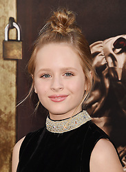HOLLYWOOD, CA - AUGUST 07: Actor attends the premiere of New Line Cinema's 'Annabelle: Creation' at TCL Chinese Theatre IMAX on August 07, 2017 in Los Angeles, California. 07 Aug 2017 Pictured: HOLLYWOOD, CA - AUGUST 07: Actress Lulu Wilson attends the premiere of New Line Cinema's 'Annabelle: Creation' at TCL Chinese Theatre IMAX on August 07, 2017 in Los Angeles, California. Photo credit: Jeffrey Mayer / MEGA TheMegaAgency.com +1 888 505 6342