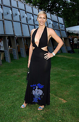 TV presenter TANIA BRYER at the annual Serpentine Gallery Summer Party co-hosted by Jimmy Choo shoes held at the Serpentine Gallery, Kensington Gardens, London on 30th June 2005.<br />