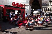 Barrio Cantina, foodfestival tussen de stadshal en de korenmarkt.