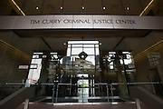 A general view of the Tim Curry Criminal Justice Center where Texas Attorney General Ken Paxton made his first court appearance in Fort Worth, Texas on August 27, 2015.  (Cooper Neill for the Texas Tribune)