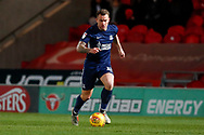 Southend United forward Simon Cox (10) in action  during the EFL Sky Bet League 1 match between Doncaster Rovers and Southend United at the Keepmoat Stadium, Doncaster, England on 12 February 2019.