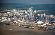 Refinery on the banks of the Mississippi River.