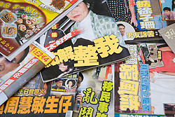 A selection of Chinese magazines,