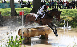 Magennis ridden by Jim Newsam on the Cross Country during day four of the 2019 Mitsubishi Motors Badminton Horse Trials at The Badminton Estate, Gloucestershire. PRESS ASSOCIATION Photo. Picture date: Saturday May 4, 2019. See PA story EQUESTRIAN Badminton. Photo credit should read: David Davies/PA Wire