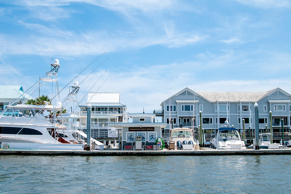 View of the marina during the Wrightsville Beach Scenic Tours in Wrightsville Beach, North Carolina on Tuesday, August 10, 2021. Copyright 2021 Jason Barnette