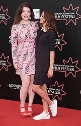 Edinburgh International Film Festival, Friday 30th June 2017<br /> <br /> ACCESS ALL AREAS (WORLD PREMIERE)<br /> <br /> Actors Georgie Henley and Ella Purnell <br /> <br /> (c) Alex Todd   Edinburgh Elite media
