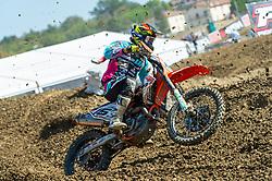 September 30, 2018 - Imola, BO, Italy - Davide BONINI (ITA) during Race 1 of MXGP of Italy in Imola. (Credit Image: © Riccardo Righetti/ZUMA Wire)