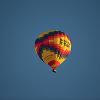 There is something magical about the first rays of sunlight after daybreak illuminating a balloon in flight