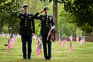 Minisink Valley JROTC places American flags at Orange County Veterans Cemetery