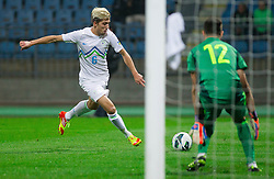 Kevin Kampl of Slovenia during football match between National teams of Slovenia and Cyprus in 3rd Round of Group E of FIFA World Cup 2014 Qualification on October 12, 2012 in Stadium Ljudski vrt, Maribor, Slovenia. Slovenia defeated Cyprus 2-1. (Photo By Vid Ponikvar / Sportida)