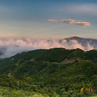 Sea of Clouds on top of Fei Ngor hill in Hong Kong.