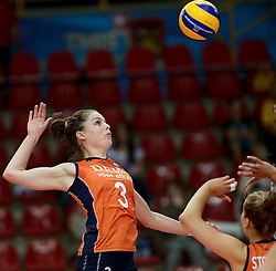 25-09-2014 ITA: World Championship Volleyball Nederland - USA, Verona<br /> Nederland verliest met 3-0 van team USA / Yvon Beliën