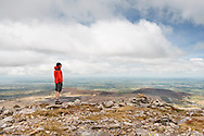 View out to sea from the NE ridge of Carnedd y Filiast