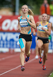 29.05.2016, Moeslestadion, Goetzis, AUT, 42. Hypo Meeting Goetzis 2016, Siebenkampf der Frauen, 800 Meter, im Bild Sarah Lagger (AUT) // Sarah Lagger of Austria during the 800 metres event of the Heptathlon competition at the 42th Hypo Meeting at the Moeslestadion in Goetzis, Austria on 2016/05/29. EXPA Pictures © 2016, PhotoCredit: EXPA/ Peter Rinderer
