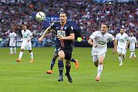 Zlatan Ibrahimovic - 30.05.2015 - Auxerre / Paris Saint Germain - Finale Coupe de France<br /> Photo : Andre Ferreira / Icon Sport