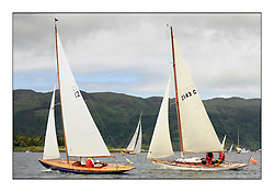 Day three of the Fife Regatta, Cruise up the Kyles of Bute to Tighnabruaich<br /> <br /> Coralie, Ewan McEwan, GBR, Bermudan Sloop, Wm Fife 3rd, 1928<br /> Mignon, Bob Fisher, GBR, Bermudan Sloop, Wm Fife 3rd, 1898<br /> <br /> * The William Fife designed Yachts return to the birthplace of these historic yachts, the Scotland's pre-eminent yacht designer and builder for the 4th Fife Regatta on the Clyde 28th June–5th July 2013<br /> <br /> More information is available on the website: www.fiferegatta.com