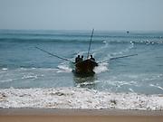 Sri Lanka, Ampara District, Arugam Bay, Pottuvil a small fishing village and popular surfing resort. Local fishermen