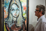 Ursula 1968 - UNSEEN AND REDISCOVERED works by the former Canadian war artist, fashion illustrator & modern painter Irwin 'Bud' Crosthwait (1914 – 1981), go on sale in a selling exhibition by GrayMCA in London this September. The exhibition will present the most extensive selection of works by Crosthwait in 45 years, from across Europe and North America, including many works that have never before been on public view. The exhibition will run from 17-22nd September, 2015 and will feature a total of more than 60 original works ranging in price from £350-£10,000.