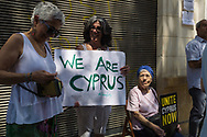 The Unite Cyprus Now group hold a demonstation on Saturday 10th of June in the UN Buffer zone between the two divided sides of Nicosia, the capital of both Greek and Turkish speaking Cypriots. The movement began in in May 2017 when citizens from both sides called for a political solution to the division of the island into Turkish Cypriot North Cyprus and EU member state Republic of Cyprus in the southern part of the island. Peace talks will take place again in June 2017.