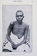 A Christian Native Of Buganda [Uganda] From the Book '  Britain across the seas : Africa : a history and description of the British Empire in Africa ' by Johnston, Harry Hamilton, Sir, 1858-1927 Published in 1910 in London by National Society's Depository