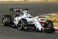 WOLFF susie (sct) test driver williams f1 mercedes fw37 action during Formula 1 winter tests 2015 at Barcelona, Spain from February 19th to 22nd. Photo DPPI / Florent Gooden.