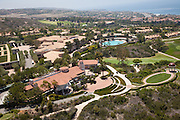 Panoramic View of The Resort at Pelican Hill in Newport Coast California