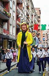 Santurtzi, Spain - Jaietan el Carmen 2011<br /> <br /> (c) Andrew Wilson | Edinburgh Elite media