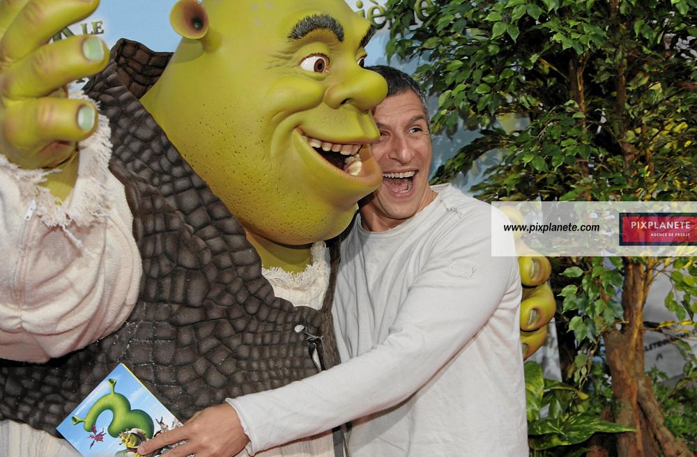Nagui - Shrek - Avant Première à Paris du troisième volet de Shrek - 7/6/2007 - JSB / PixPlanete