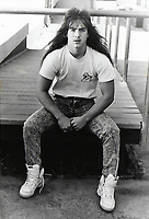 OVHS 1989 Black and White yearbook prints scanned by Rob Wilson.  1980's fashion.