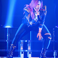 ST PAUL, MN - MARCH 18: Demi Lovato performs at the Xcel Energy Center on March 18, 2014 in St. Paul, Minnesota. (Photo by Adam Bettcher/Getty Images) *** Local Caption ***  Demi Lovato