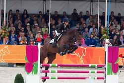 Everse Mischa (NED) - Cupido<br /> Winner 4 year old horses<br /> KWPN Paardendagen 2011 - Ermelo 2011<br /> © Dirk Caremans