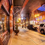 Near intersection of 10th and Broadway, downtown Kansas City, Missouri.