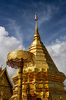 "Wat Doi Suthep - its official name Wat Phrathat Doi Suthep is a Theravada Buddhist temple in Chiang Mai, Thailand. The temple is often referred to as simply ""Doi Suthep"" although this is actually the name of the mountain it is located on. The temple is a sacred site to many Thai people."