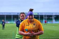 Home players warming up before the match  - Mandatory by-line: Nick Browning/JMP - 14/11/2020 - RUGBY - Sixways Stadium - Worcester, England - Worcester Warriors Women v Loughborough Lightning - Allianz Premier 15s