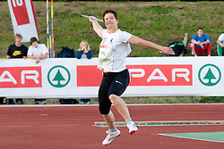 Martina Ratej of Slovenia during the women's javelin at athletics meeting Ljubljana Grand Prix 2010 for 5th Memorial Matic Sustersic and Patrik Cvetan on August 29, 2010, in Ljubljana, Slovenia. (Photo by Matic Klansek Velej / Sportida)