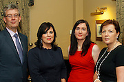 Patrick O'Donoghue, Eileen O'Donoghue, Eilish Loughrey and Clio O'Gara of the Killarney Convention Centre at the EFQM Ireland Excellence Awards ceremony in association with Fáilte Ireland and the Centre for Competitiveness at the Galway Bay Hotel on Friday night. Photo:- Andrew Downes Photography / No Fee