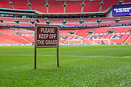 Wembley Stadium during the SSE Women's FA Cup Final match between Chelsea Ladies and Arsenal Ladies at Wembley Stadium, London, England on 14 May 2016. Photo by Shane Healey.