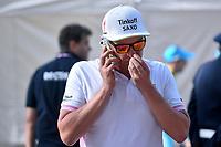Arrival, Oleg TINKOFF (Rus) Team owner Tinkoff Saxo Bank (Den) during the Giro d'Italia 2015, Stage 6, La Spezia - Abetone (152 Km) on May 14, 2015. Photo Tim de Waele / DPPI