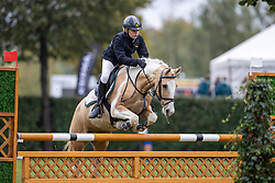 De Cuyper Tess, BEL, Zai<br /> Nationaal Kampioenschap LRV Ponies <br /> Lummen 2020<br /> © Hippo Foto - Dirk Caremans<br /> 27/09/2020